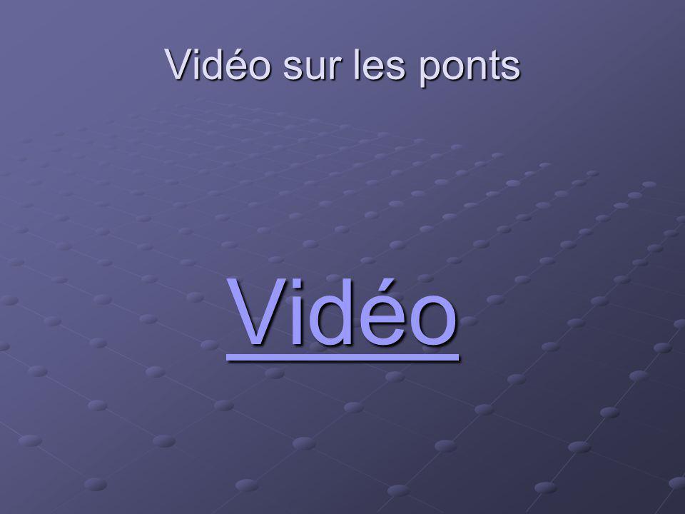 Vidéo sur les ponts Vidéo Vidéo