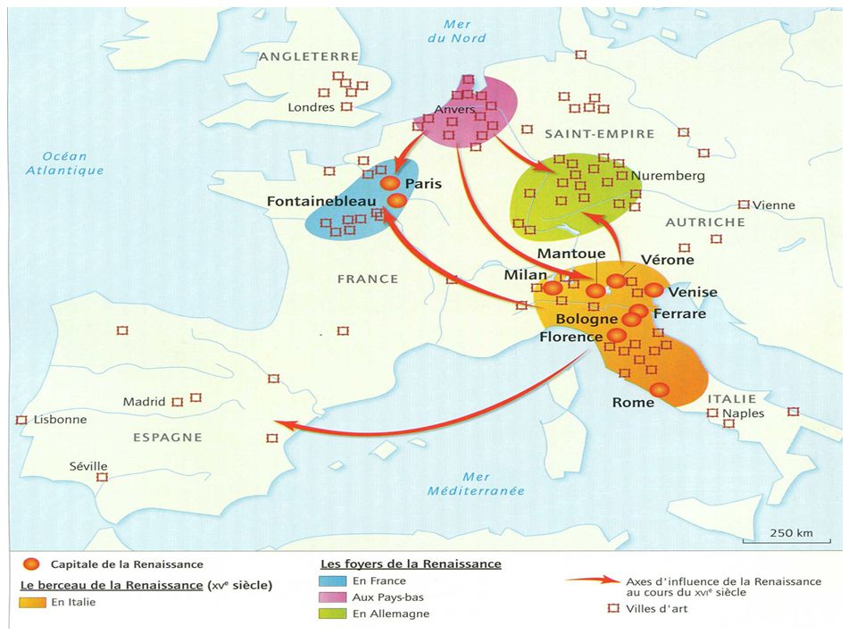 Les humanistes français, hollandais et allemands étudient les textes chrétiens anciens.