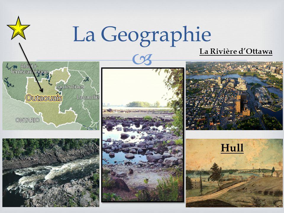 La Geographie La Rivière dOttawa Hull