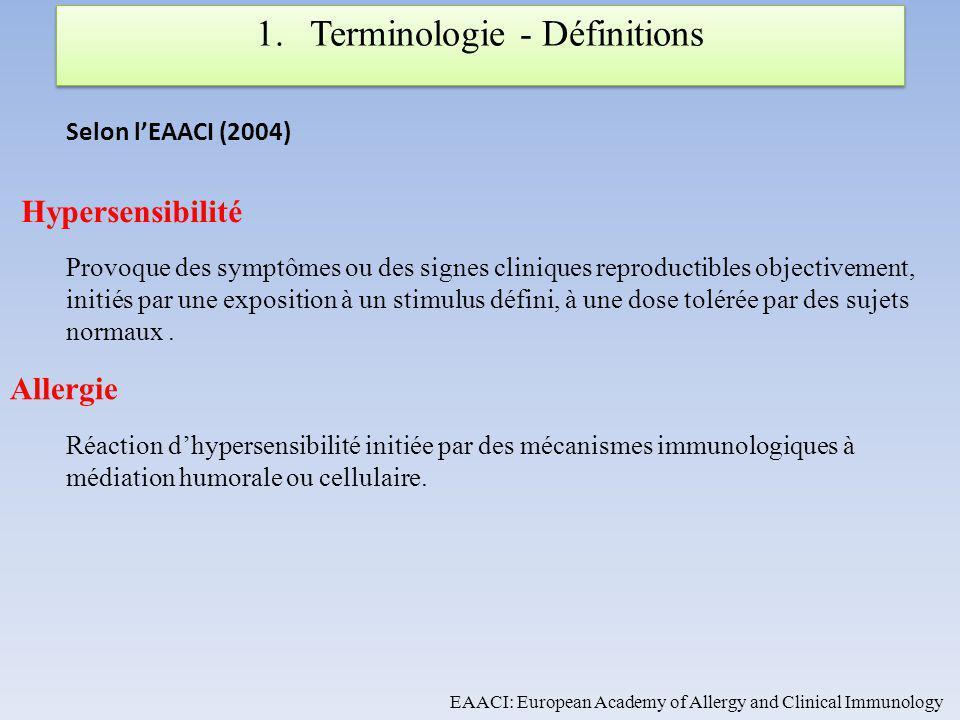 Aussi DTH : delayed type hypersensitivity = Hypersensibilité retardée.