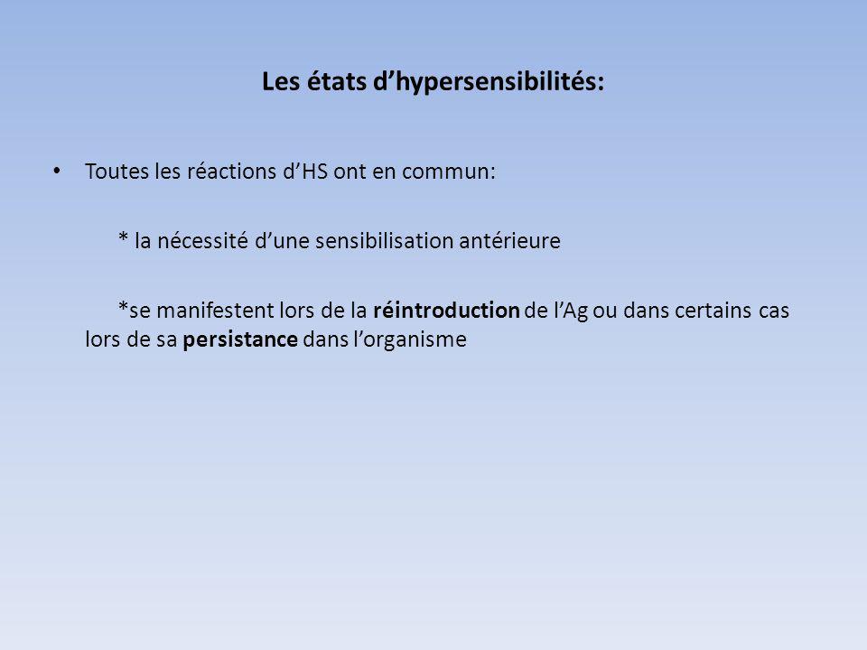 HYPERSENSIBILITE DE TYPE II (H.S. CYTOTOXIQUE)