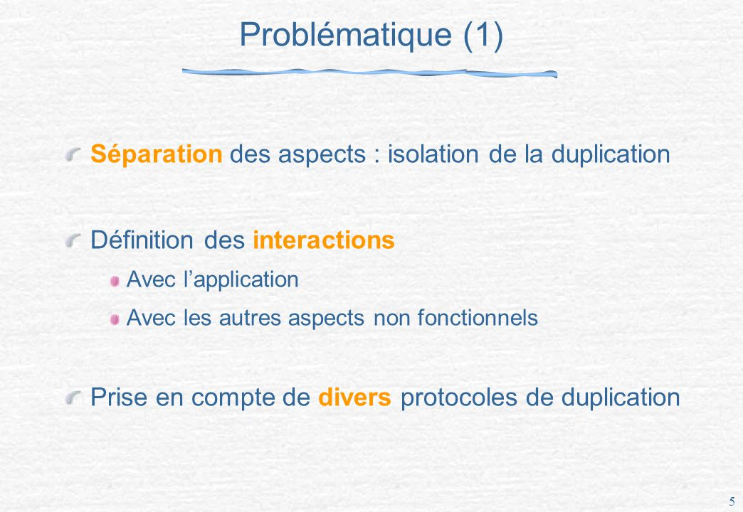 16 Modèle de cohérence globale/locale Protocole de cohérence globale Application Modèle de cohérence globale Protocole de cohérence locale Protocole de cohérence locale Modèle de cohérence locale Contrôle de concurrence Contrôle de concurrence Couche de communication Tolérance aux fautes Tolérance aux fautes