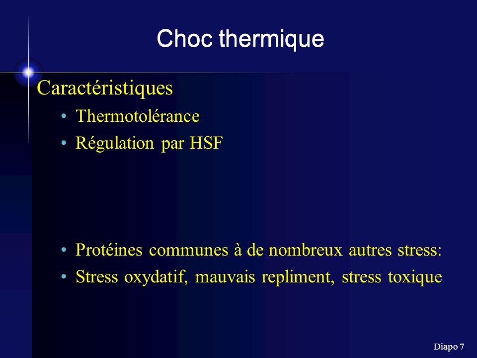 Diapo 8 Stress oxydatif DRO (dérivés réactifs de l oxygène - ROS) H 2 O 2, ROOH, O 2 -, OH -, ONOO -, .