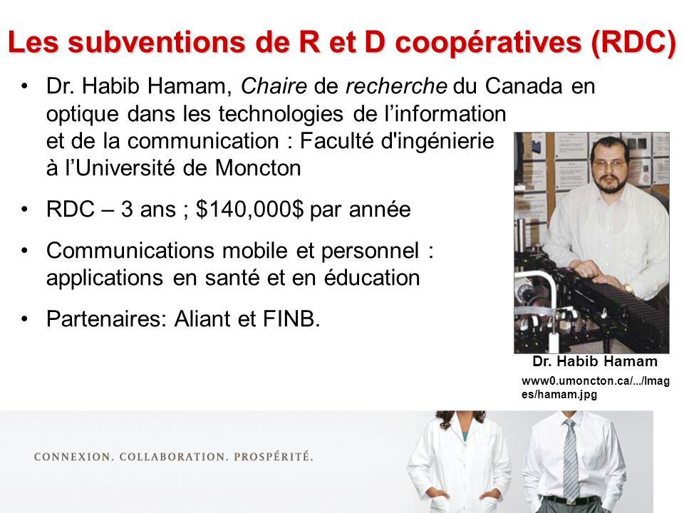 Dr. Habib Hamam, Chaire de recherche du Canada en optique dans les technologies de linformation et de la communication : Faculté d'ingénierie à lUnive