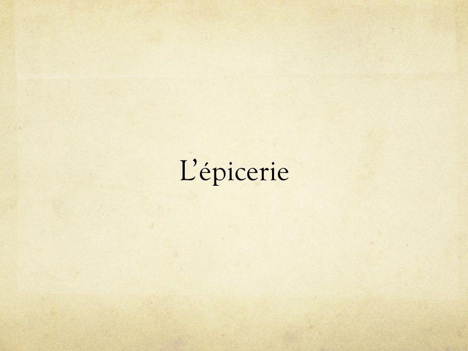 Lépicerie