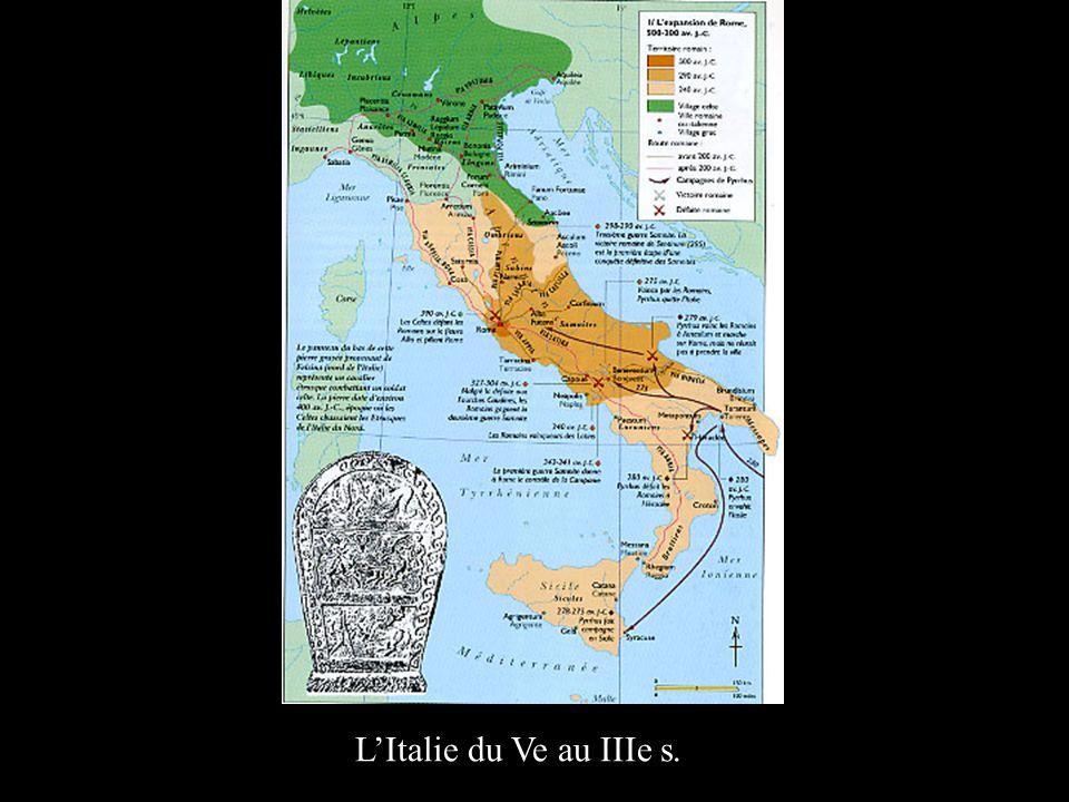 LItalie du Ve au IIIe s.