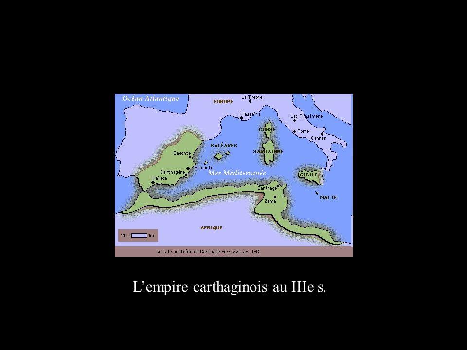 Lempire carthaginois au IIIe s.