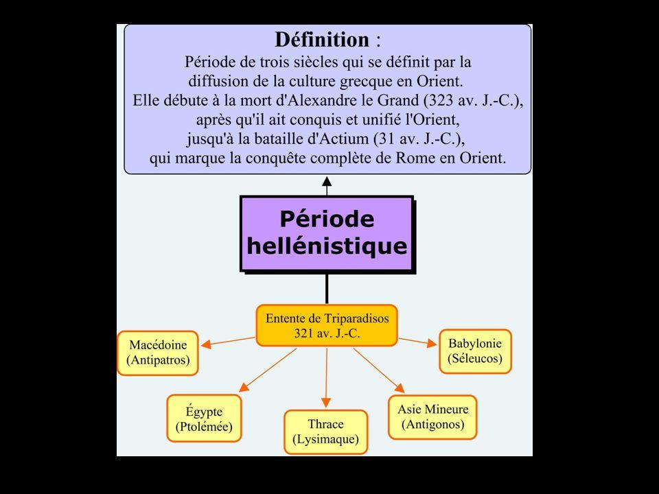 4 royaumes hellénistiques