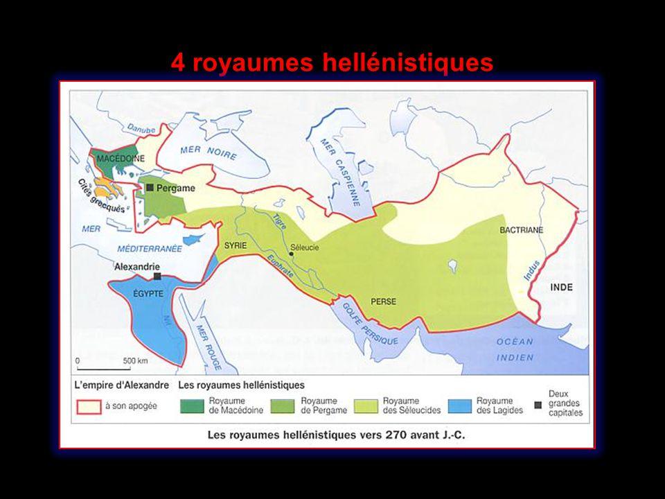 Le royaume antigonide de Macédoine et de la Grèce continentale Les Antigonides Le plus compact Peuplement exclusivement grec Tradition dautonomie et dindépendance De plus courte durée