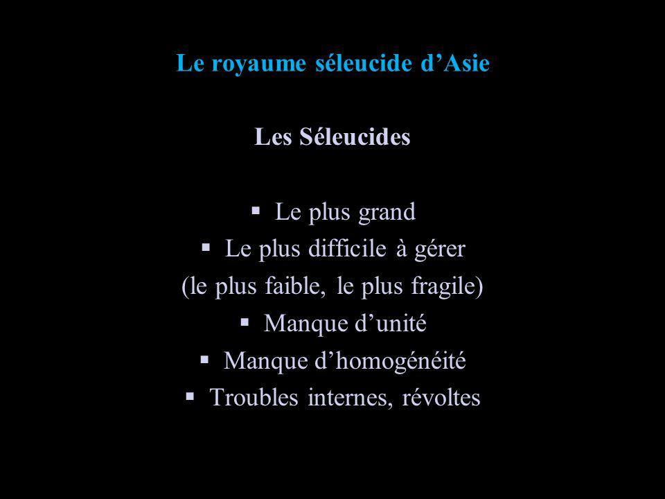 Généalogie des Séleucides dAsie