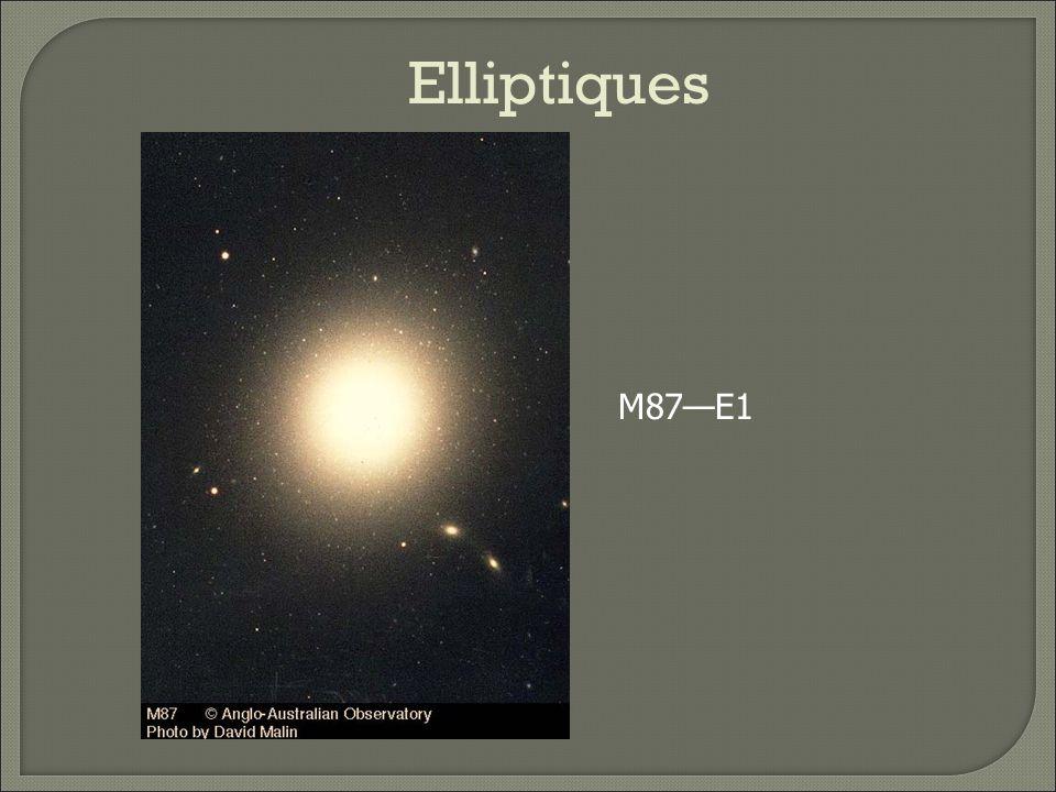 Elliptiques M32E2, naines