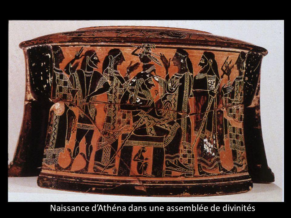 Naissance dAthéna dans une assemblée de divinités