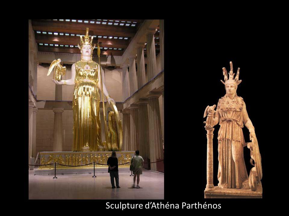Sculpture dAthéna Parthénos