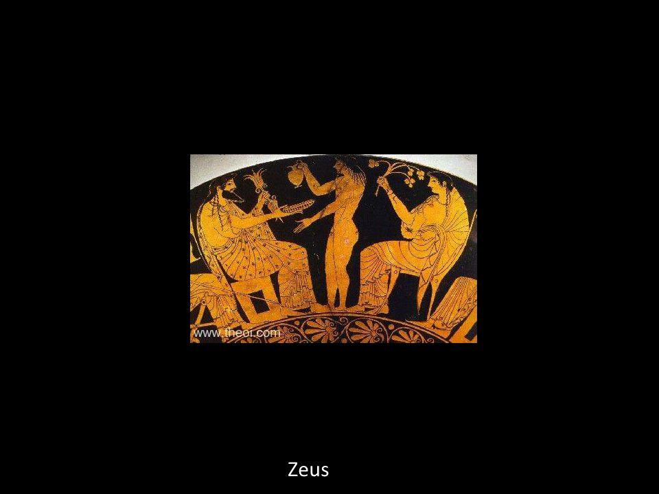 Création de Pandore par Héphaïstos en compagnie d Hermès et de Zeus