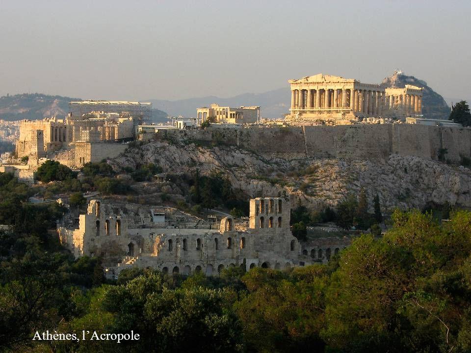 Athènes, lAcropole
