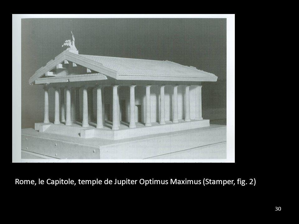 30 Rome, le Capitole, temple de Jupiter Optimus Maximus (Stamper, fig. 2)