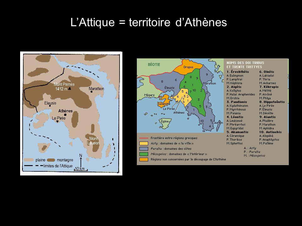 LAttique = territoire dAthènes