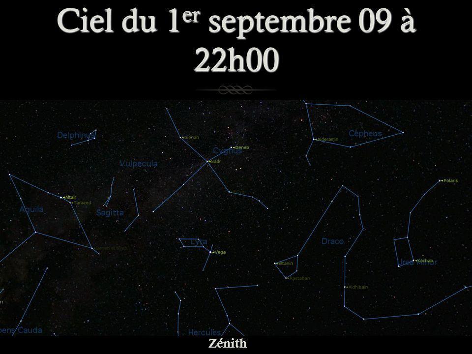 Ciel du 1 er septembre 09 à 22h00 Zénith