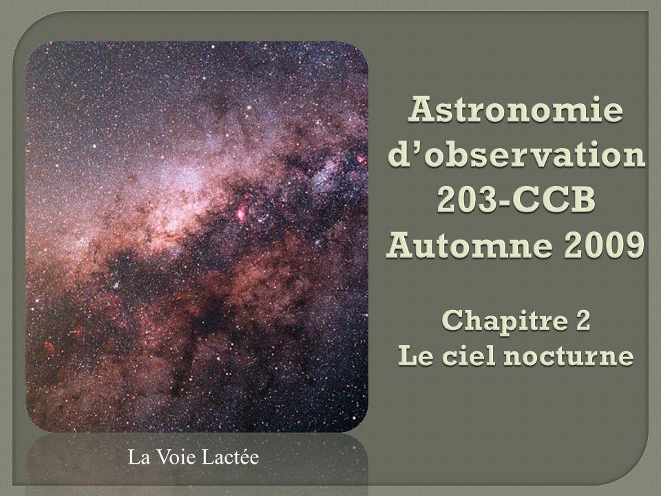 1.Les constellations 2. Les systèmes de coordonnées: 1.