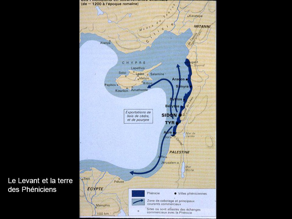 Le Levant et la terre des Phéniciens
