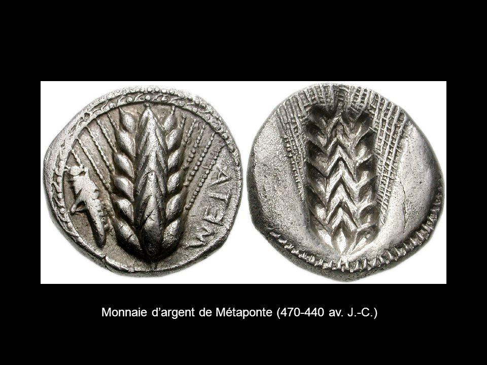 Monnaie dargent de Métaponte (470-440 av. J.-C.)