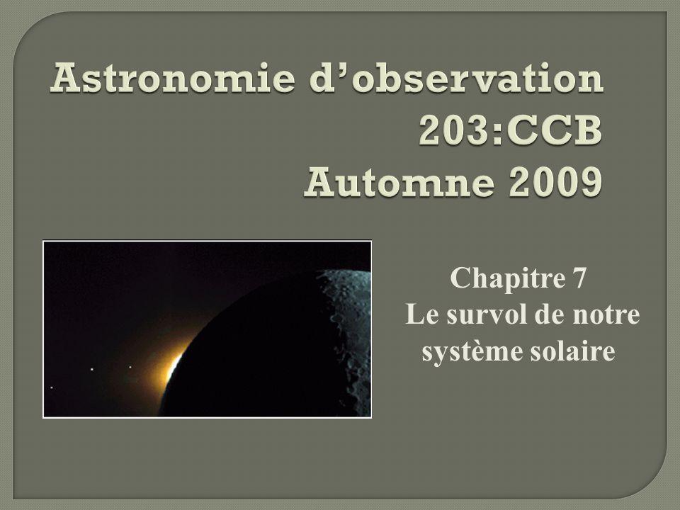 Chapitre 7 Le survol de notre système solaire