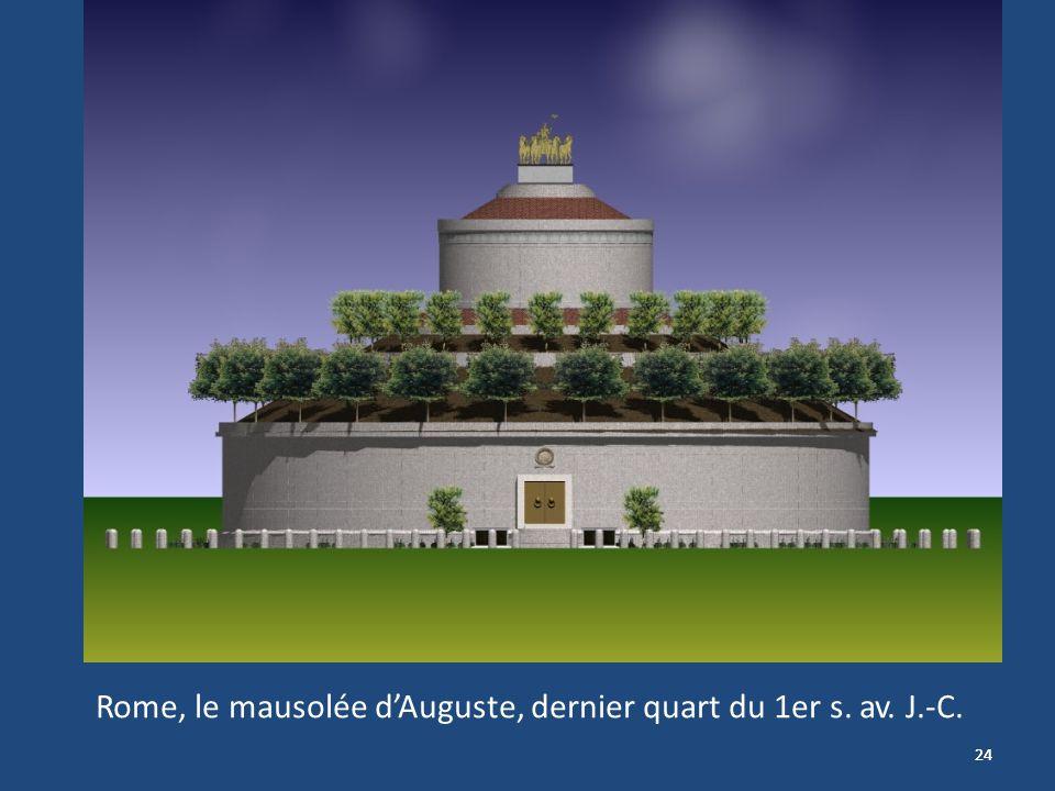 24 Rome, le mausolée dAuguste, dernier quart du 1er s. av. J.-C.
