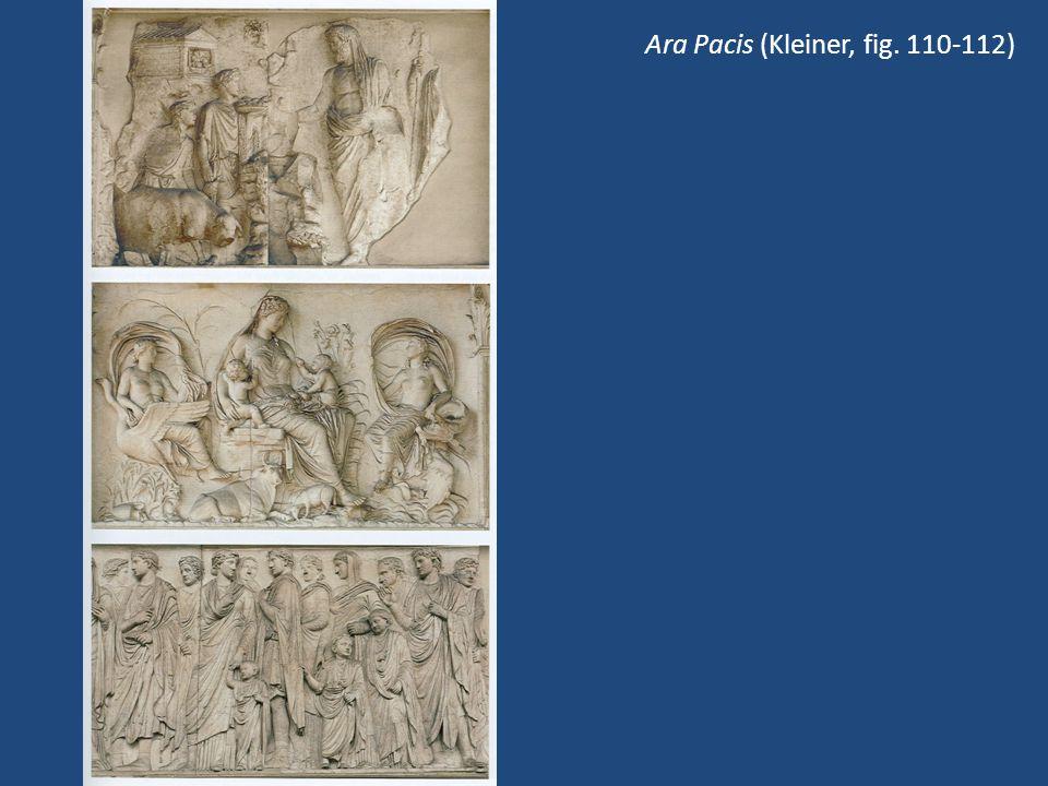 Ara Pacis (Kleiner, fig. 110-112)