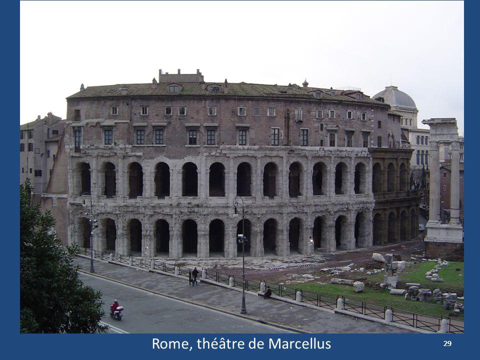 29 Théâtre de Marcellus Rome, théâtre de Marcellus