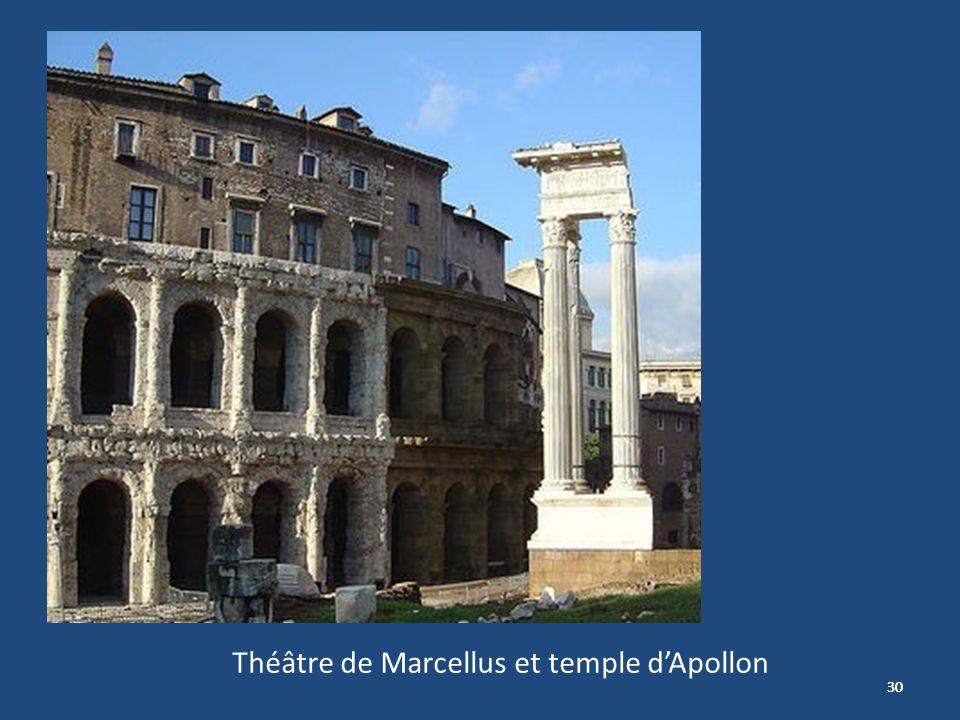 30 Théâtre de Marcellus et temple dApollon