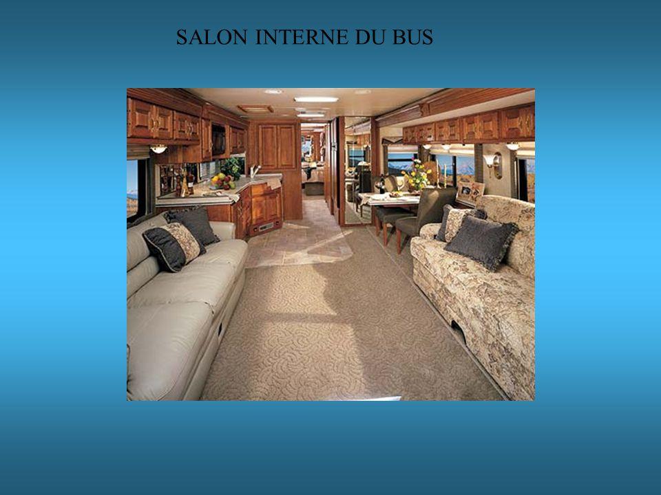 SALON INTERNE DU BUS