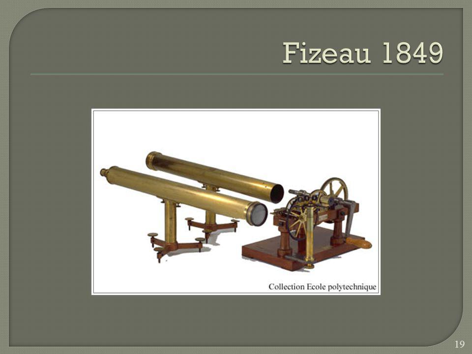 Thomas Young La lumière nest pas une particule! 18 Cest en 1800 que Young remet en question linterprétation corpusculaire de la lumière. En observant