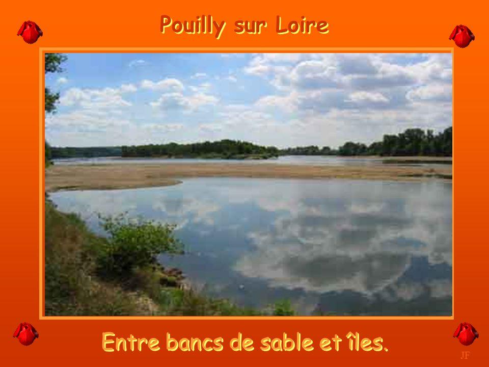 Et même en forte crue. JF Pouilly sur Loire