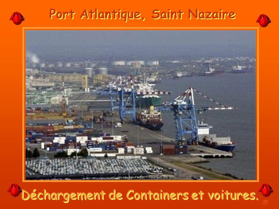 Deuxième port pétrolier de France JF Donges