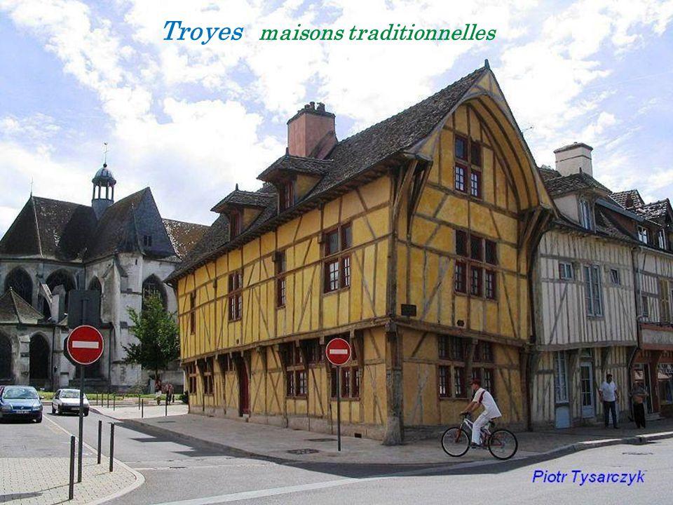 Troyes le centre ville