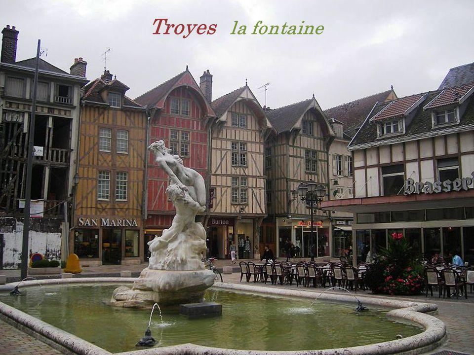 Troyes la fontaine