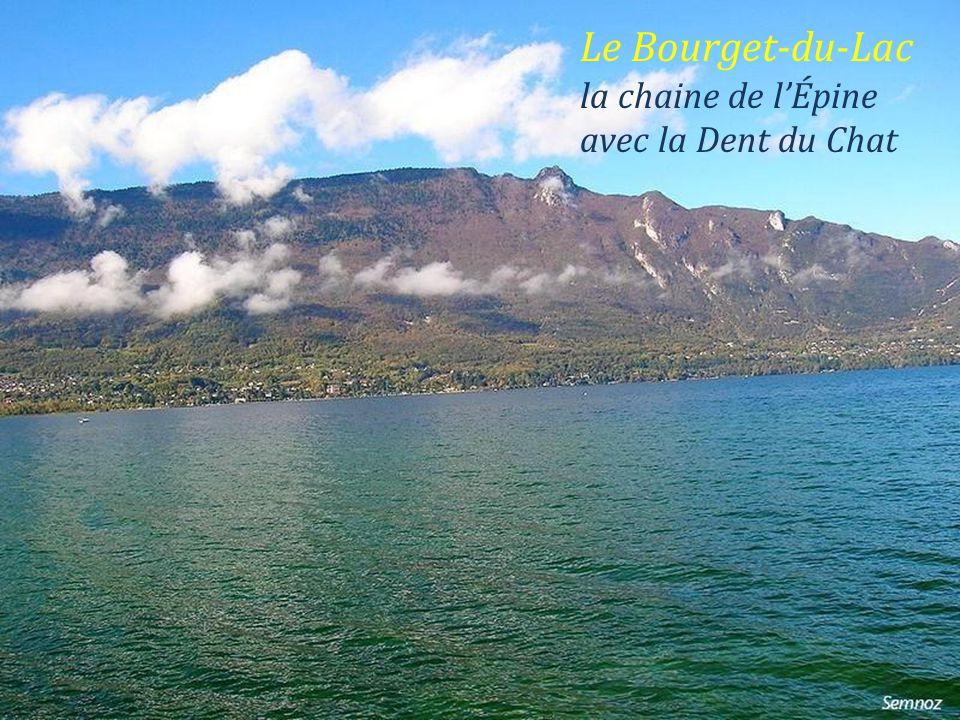 Le Bourget-du-Lac façade de léglise