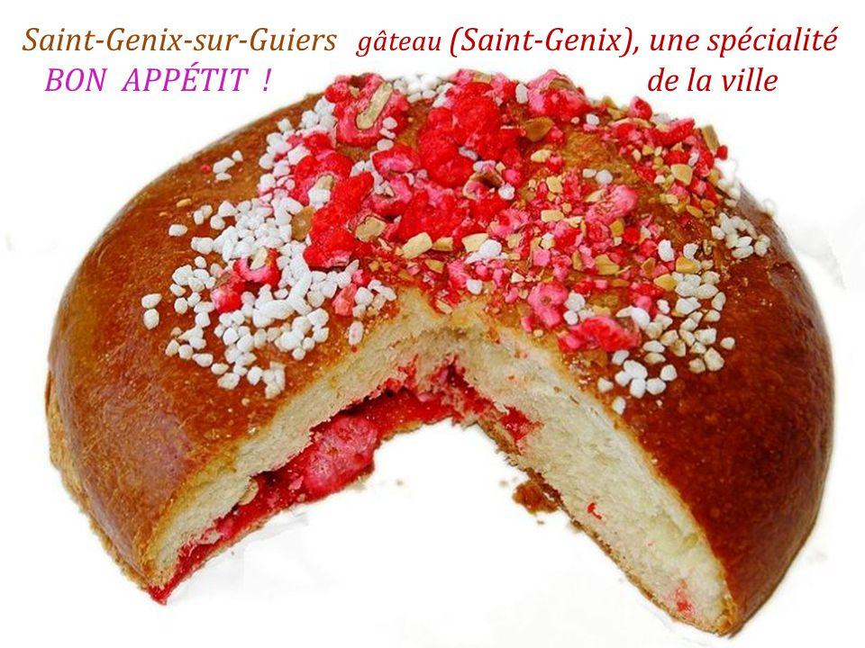 Saint-Genix-sur-Guiers place de léglise
