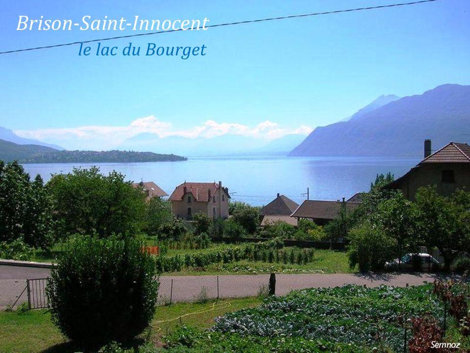 Brison-Saint-Innocent. le lac du Bourget