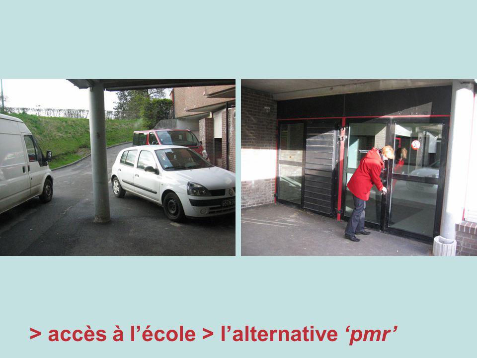 > accès à lécole > lalternative pmr