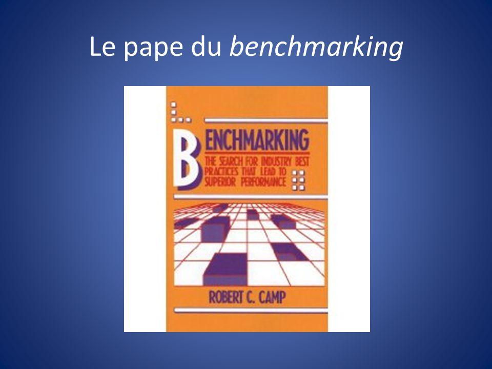 Le pape du benchmarking