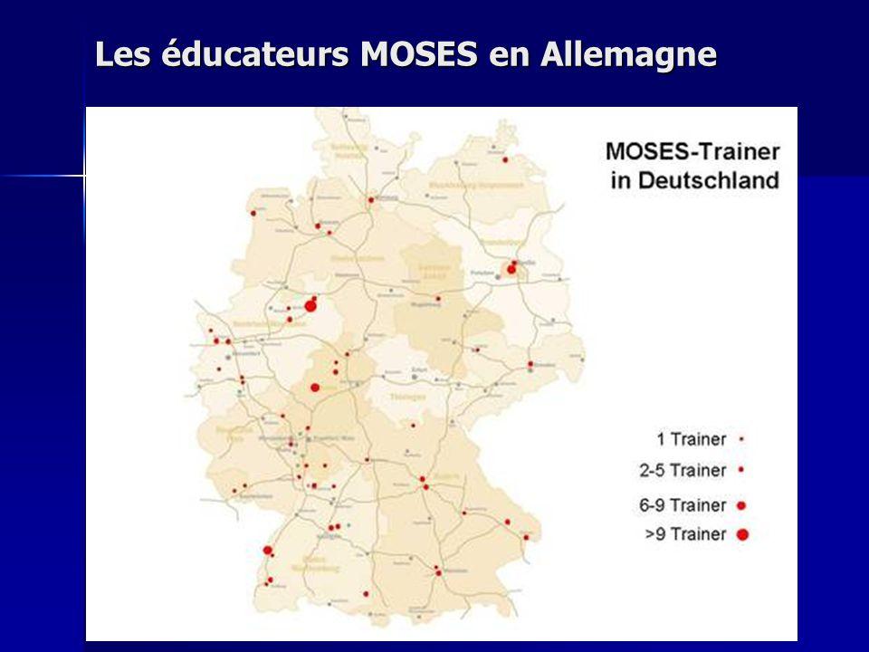 Les éducateurs MOSES en Allemagne