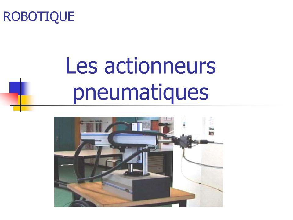 Introduction Les actionneurs pneumatiques convertissent lénergie de puissance pneumatique en énergie mécanique de translation, de rotation ou daspiration.