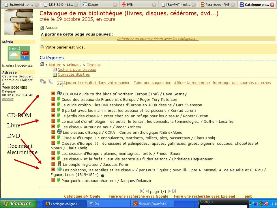35 CD-ROM Livre DVD Document électronique