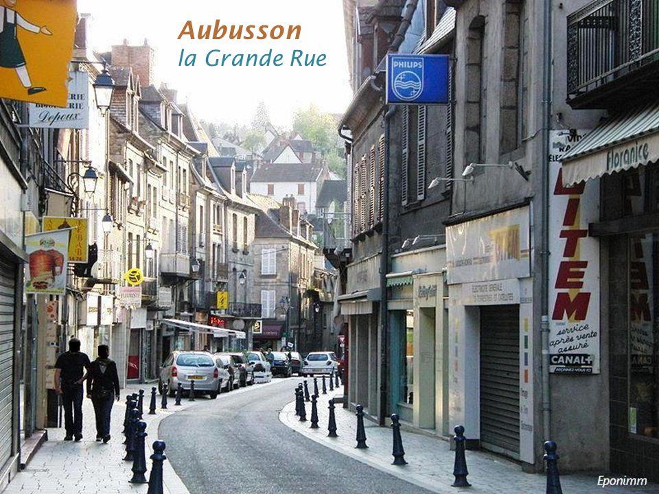 Aubusson lHôtel de ville