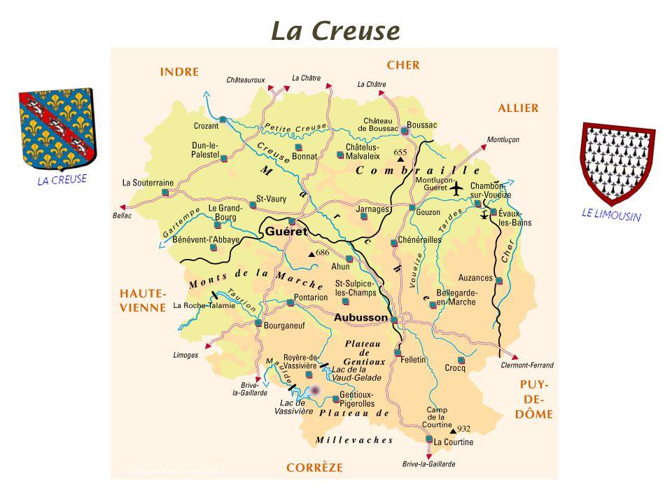 Châtelus-le-Marcheix, le Châtaignaud. la commune