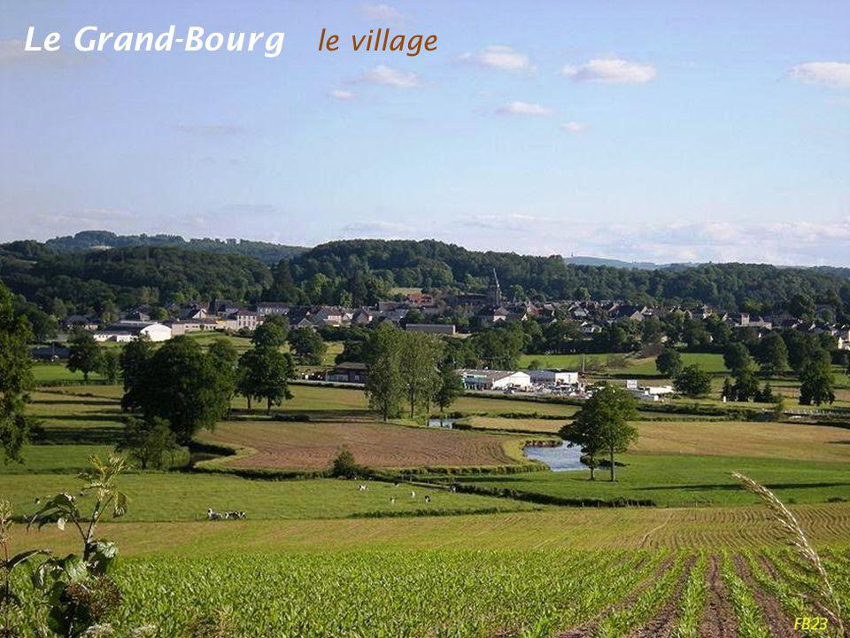 Chamborand panorama vu de la commune