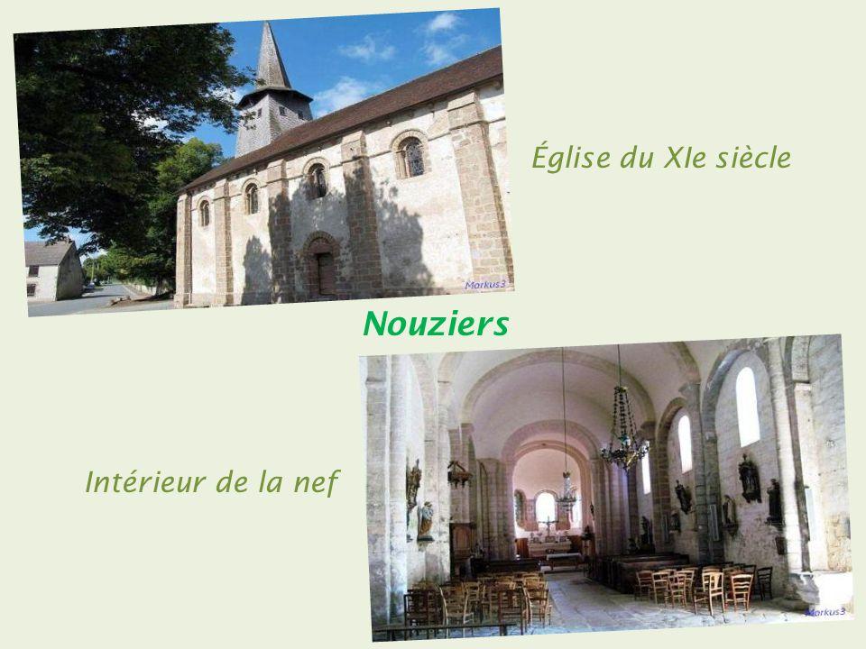 Moutier-Malcard le centre du village