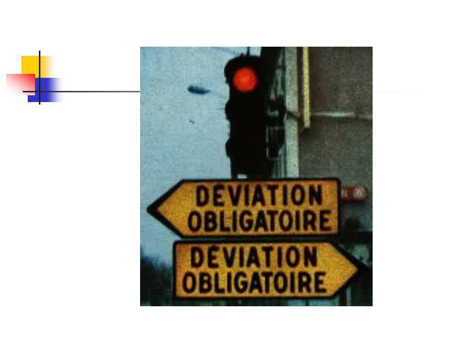 Soyez vigilant : Les voies de circulation requièrent parfois une attention toute particulière …