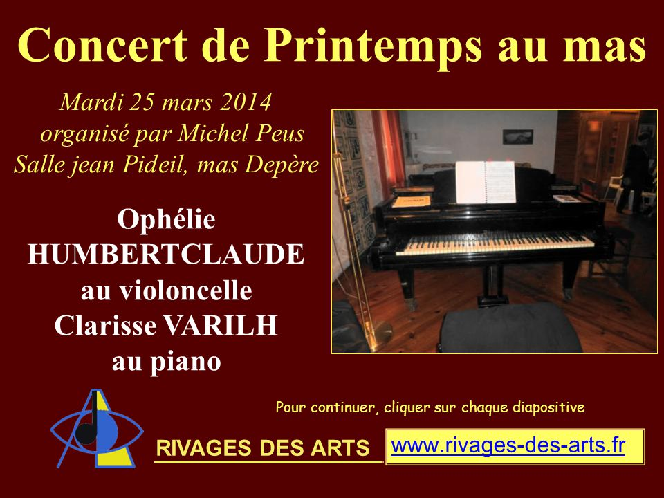 Programme : 1° partie Johannes BRAHMS Sonate en mi mineur OP 38 Allegro non troppo Allegro quasi menuetto et trio Allegro